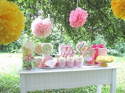 The lolly buffet.. Like the pink but would replace yellow with white