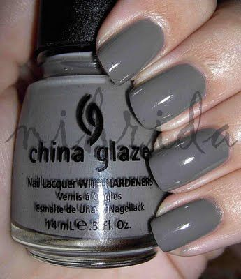 China Glaze Recycle.  I'm wearing right now.