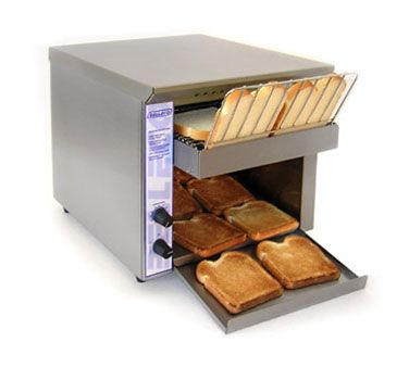 w toaster conveyor slices belt commercial star hr