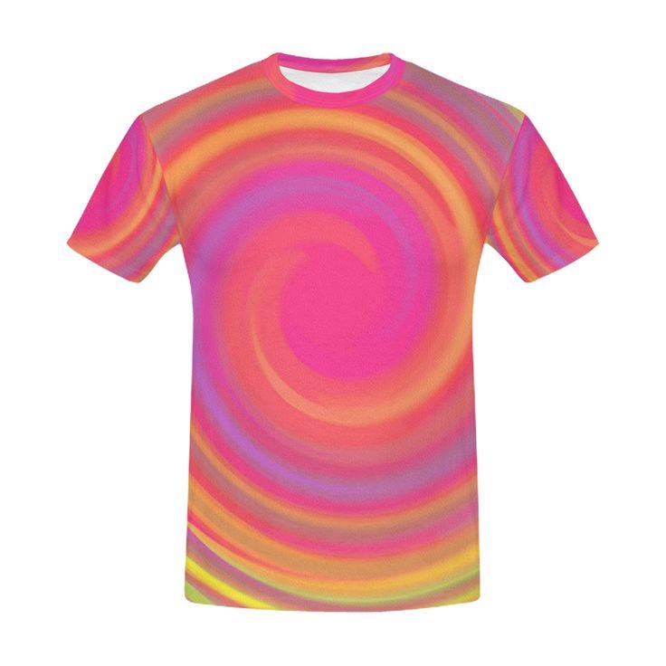Rainbow Swirls Men