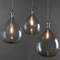 Manor Fine Wares: Wine Sphere Light Fixture 54 Liter