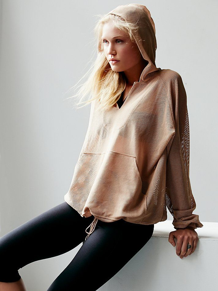 Free People Just Breathe Billowing Hoodie, £78.00