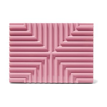 On SALE at 50% OFF! Cross Stack Pink Brass Box Clutch by Lee Savage. Baby-pink brass, stone leather (Lamb) . Magnetic fastening at top . Weighs approximately 2.6lbs/ 1.2kg . Made in Italy