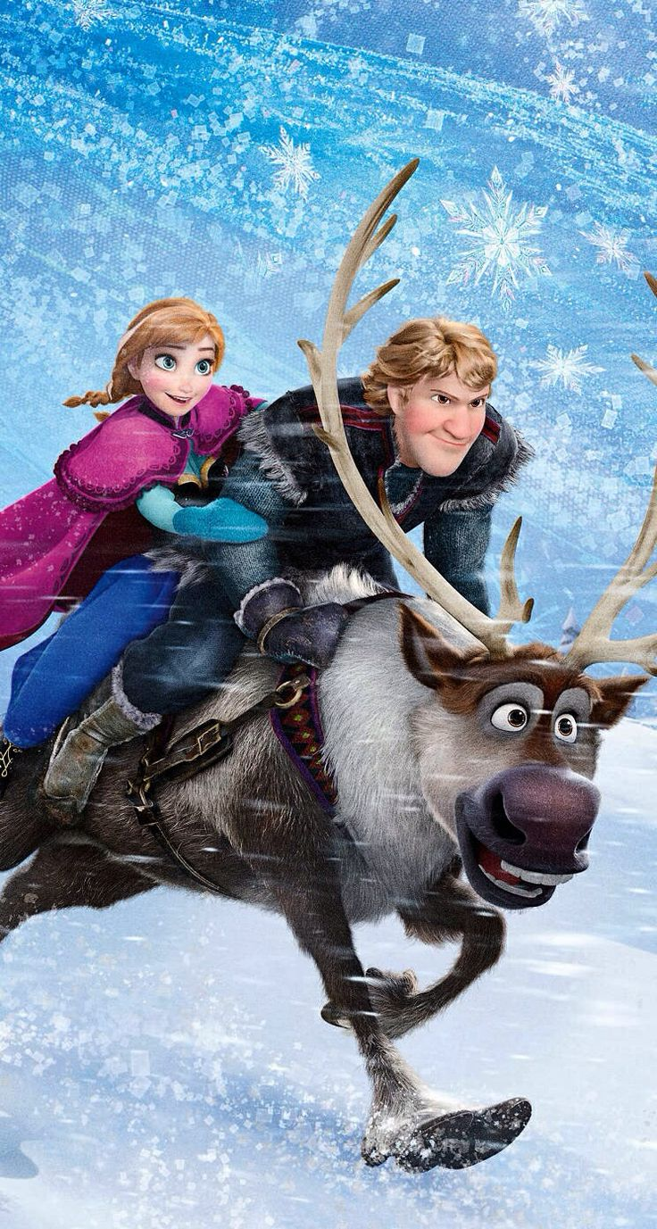 Frozen: Anna, Kristoff, and Sven