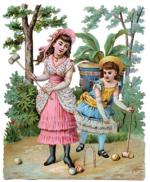 Garden Croquet.:
