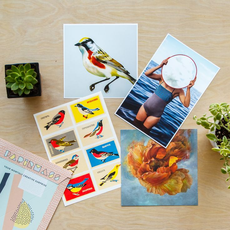 A selection of Papirmass prints #yaymail  #papirmass #artsubscription #artwork #creativelife #happylife #artinthemail #art #artprint #subscriptionbox