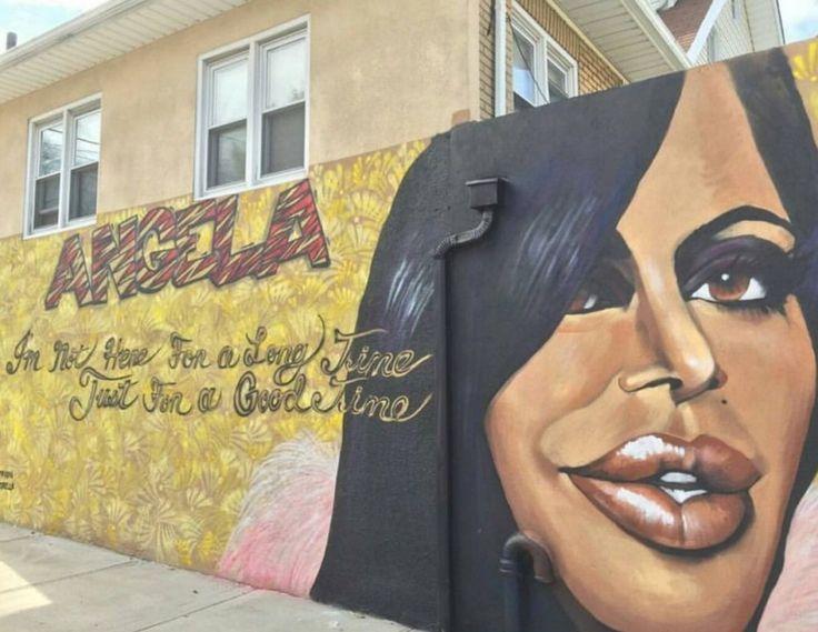 'Mob Wives' love: Drita D'Avanzo present at Big Ang mural unveiling | SILive.com