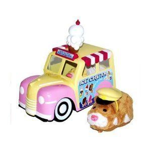 Zhu Zhu Pets Playset Ice Cream Truck Hamsters Not Included! by Cepia LLC. $7.89. Your Zhu Zhu Pets will have a cool refreshing treat when this Zhu Zhu Pets Ice Cream Truck rolls around!There is a zhuniverse of Zhu Zhu Pets to choose from. Collect and connect all of the Zhu Zhu Pet hamsters and accessories to build a humongous hamster city. As you expand and create an everevolving hamster world, your Zhu Zhu pet will happily play and explore even more. Show your wild side wit...