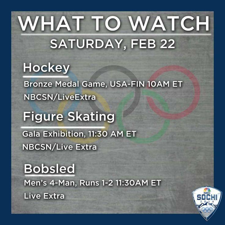 Big bronze medal hockey game today for Team USA.