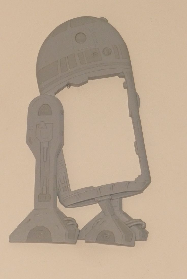 Our R2D2 art and prototype former is now complete, all I got to do now is make the mould.