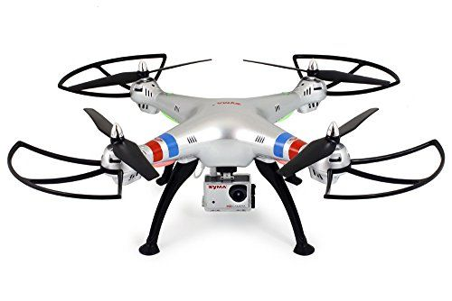 Syma X8G Headless 2.4Ghz 4CH RC Quadcopter with 8MP HD Camera - http://www.midronepro.com/producto/syma-x8g-headless-2-4ghz-4ch-rc-quadcopter-with-8mp-hd-camera/