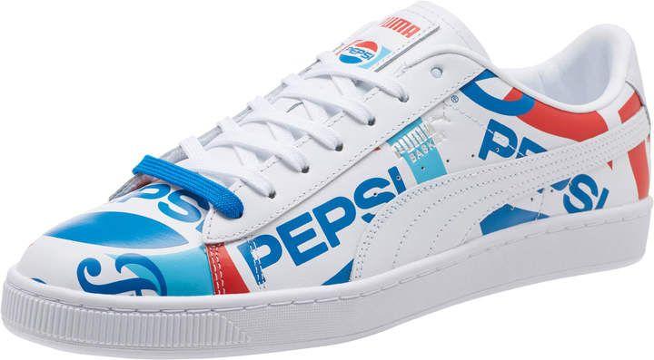 PUMA x PEPSI Basket Sneakers #PEPSI