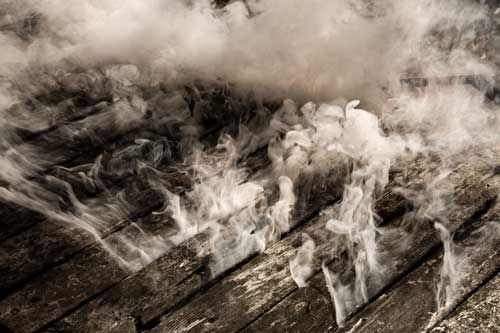 Fire Damage And Smoke Damage Require Clean Up After A Fire Occurs