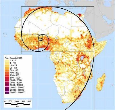 Fibonacci Spiral In Human Settlement Patterns