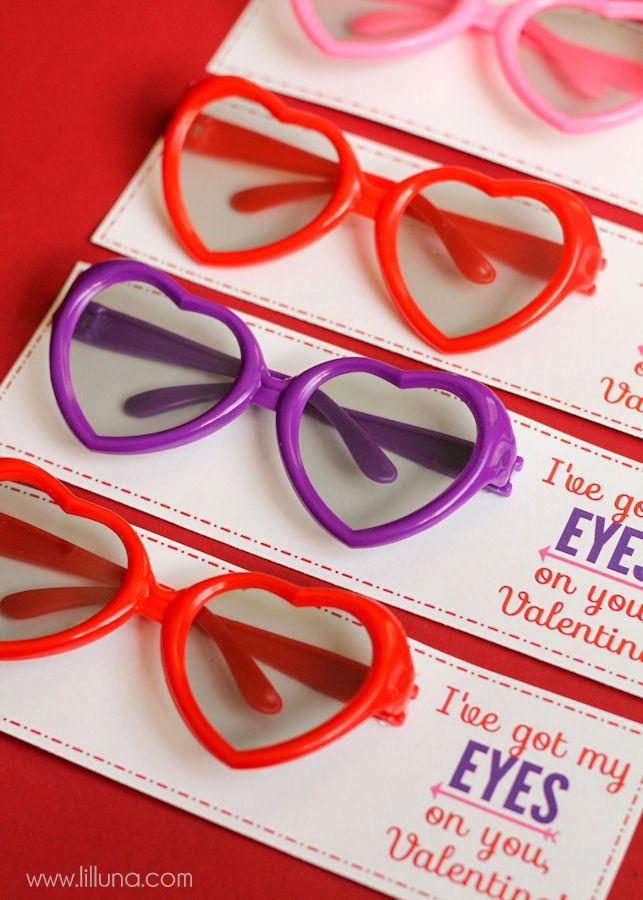 I've got my EYES on you, Valentine!! Free prints on { lilluna.com }