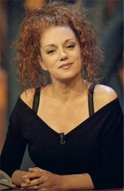 Sylvia Millecam (Den Haag, 23 februari 1956 - Nijmegen, 20 augustus 2001) was actrice, zangeres, comédienne en presentatrice van onder andere Knoop in je Zakdoek - Foto ANP - Sylvia Millecam was a Dutch actress, singer, comedienne and TV presenter.