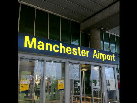 Manchester Airport (MAN) and our journey begins!!