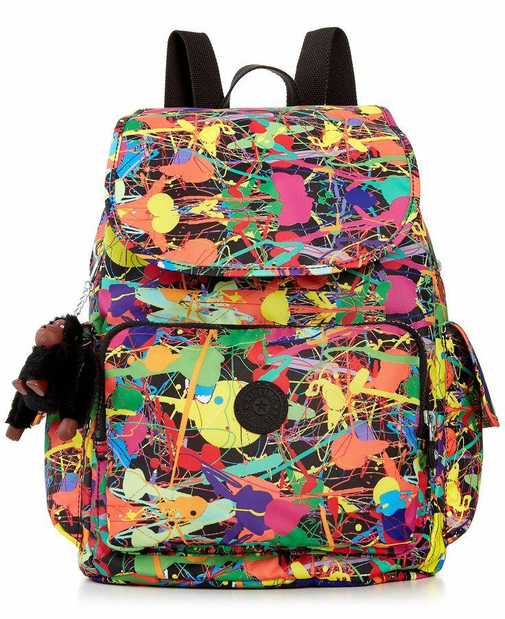Kipling Ravier Print Backpack Mstylelab Brands
