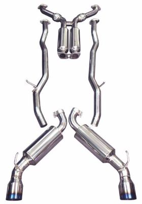 Injen 2010-2014 Hyundai Genesis Coupe 2.0T L4 Stainless Steel Cat-Back Exhaust System with Burnt Titanium Tips