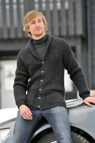 Tema 26: Modell 20 Higgins jakke #strikk