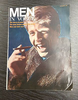 VOGUE Magazine - Men in Vogue November 1965 Edward Fox