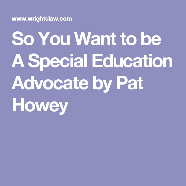 9 best special needs extraordinary solutions images on pinterest pat howey provides a short list of things people must do to become effective special education advocates expose yourself to advocacy opportunities learn fandeluxe Choice Image