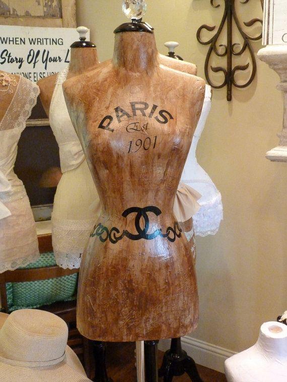Dress Form Designer Fashion Mannequin Paris by autumnlady18, $319.00