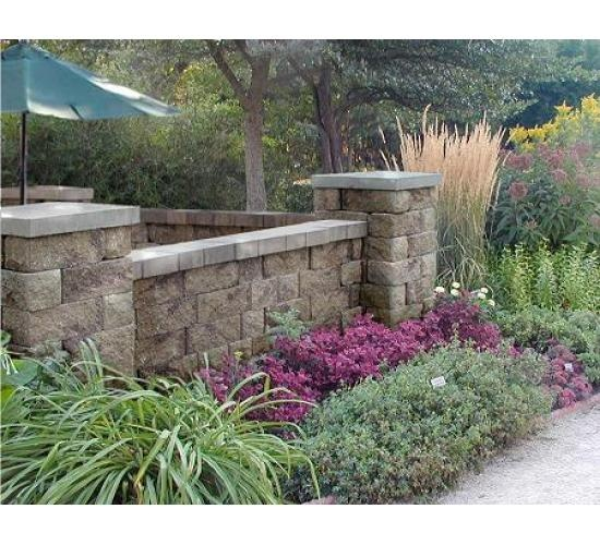17 best images about retaining wall ideas on pinterest for Garden block wall ideas
