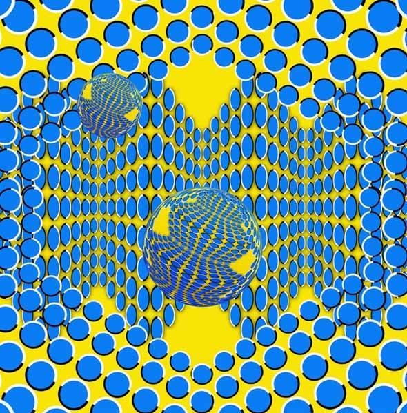 Best Illusions Images On Pinterest Colors Eye Illusions And - Fascinating optical illusion disguises 12 black dots right in front of you