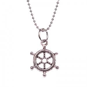 Sailor's rudder necklace
