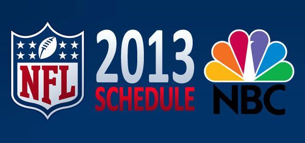 #NFL 2013: Check Out the 2013 NFL Sunday Night Football Schedule on #NBC