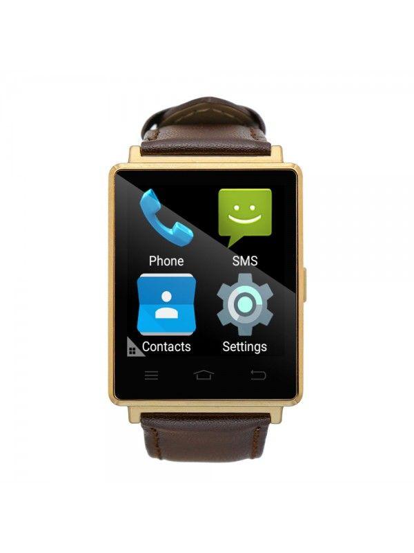 NO.1 D6 3G Smart Watch Phone (Gold)