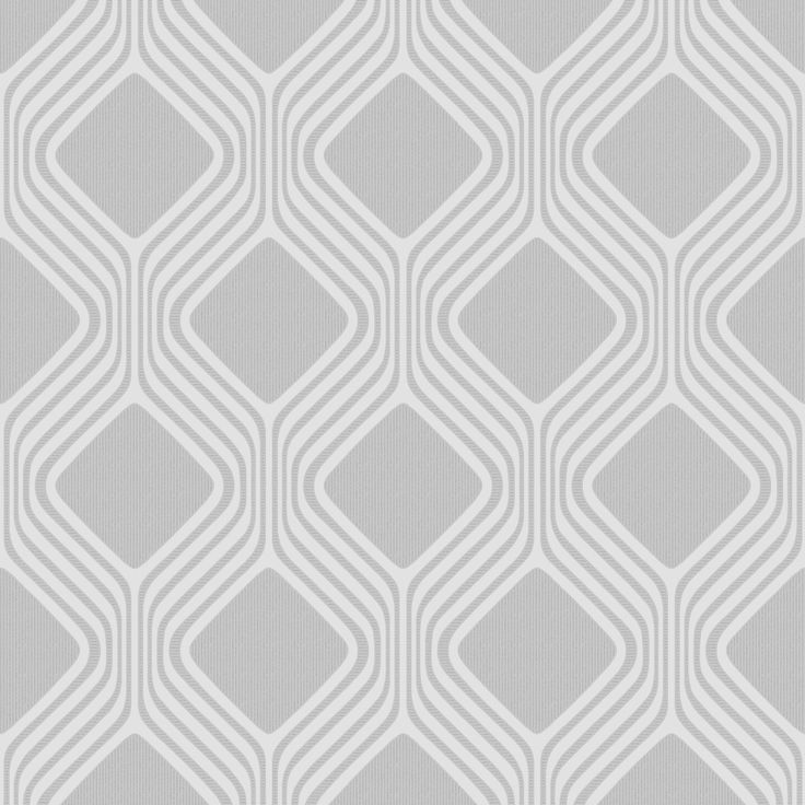 Henderson Interiors Camden Geometric Textured Glitter Wallpaper Soft Grey (H980517) - Wallpaper from I love wallpaper UK