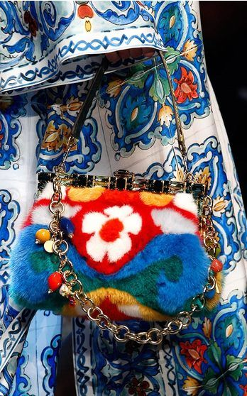 Dolce & Gabbana Accessories Spring Summer 2016 on Moda Operandi