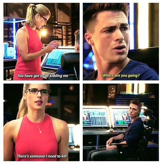 Arrow - Felicity and Roy #3.2 #Season3