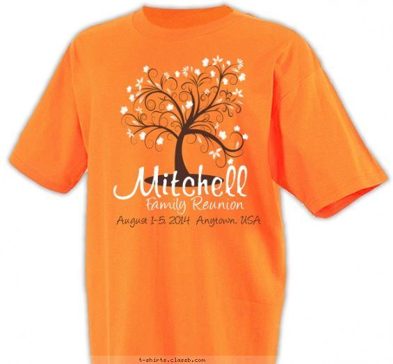 43 best Tree Design, Family Reunion T-Shirts images on Pinterest ...