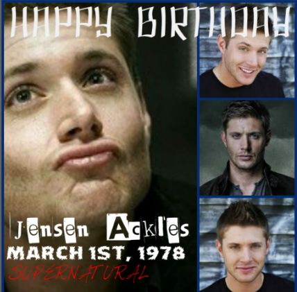 Happy birthday to the Actor of Dean Winchester, Jensen Ackles. You have inspired us with your sass, your amazing smile, your sarcasm, and the love for your brother in Supernatural. Happy Birthday and I hope you enjoy your special day.
