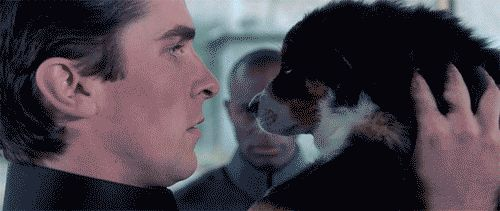 Lickable Christian Bale gif ♥ Equilibrium