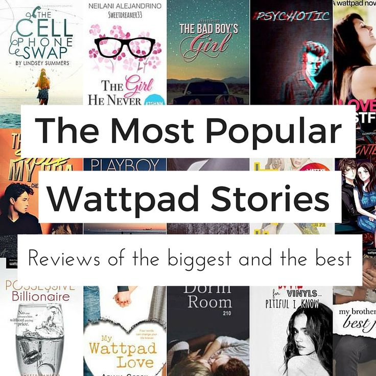 Find all the most read Wattpad stories in one place - listed in order of popularity and reviewed. Rediscover the best Wattpad books ever.