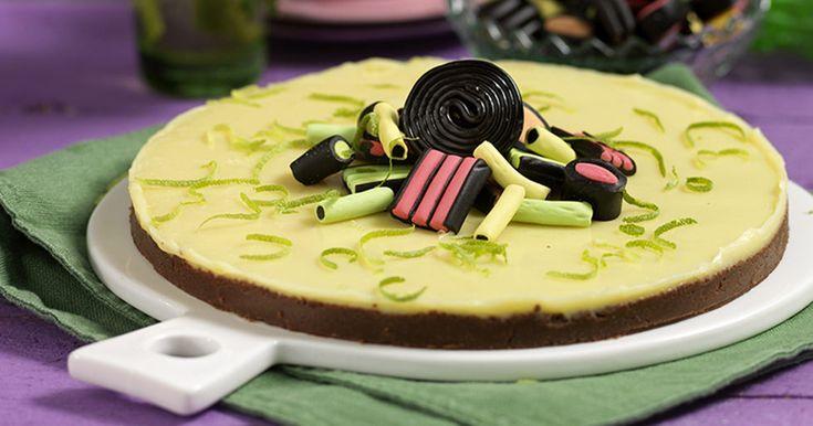 Vit chokladkaka med lakrits recept
