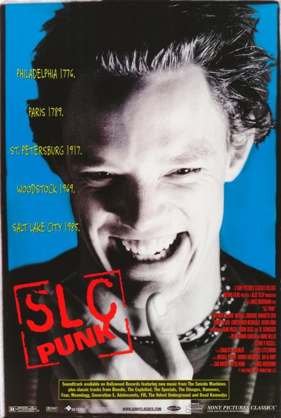 SLC Punk! 11x17 Movie Poster (1999)