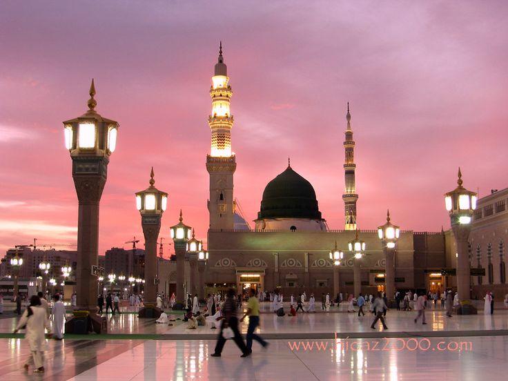 The beautiful city called Medina, Saudi Arabia. I would ...