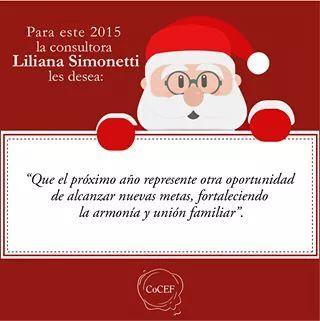 Saludo nuevo año Liliana Simonetti