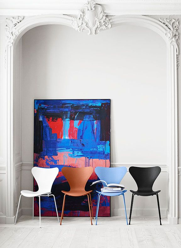 Colours in perfect shape - Fritz Hansen
