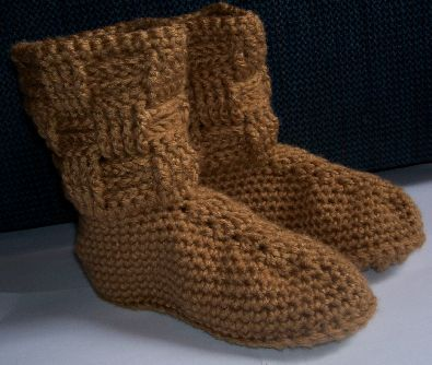 The 566 best Slippers and Socks- FREE Crochet images on Pinterest ...