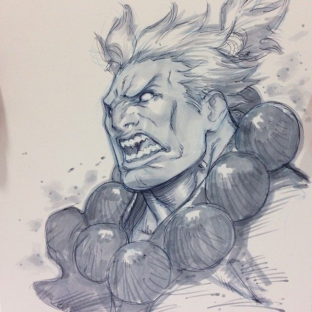 Street Fighter - Akuma by Alvin Lee