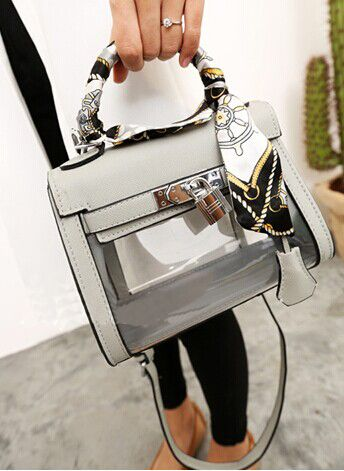 how to clean a cloth purse