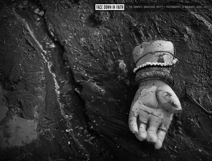 New pin for Ganpati Festival 2015 is created by by bhargavijoshiproductions1 with Face Down In Faith | The Ganpati Graveyard Shift. Exposing the farce religion has become today. #India #Mumbai #Bombay #Ganesh #Ganpati #Festival #Religion #Beach #Ocean #Abuse #unfaithful #Water #Immerse #GanpatiBappa #God #ElephantGod #city #Urban #Money #Chaos #Faith #Temple #Worship #Lord #PhotoEssay #Photoseries #Expose #Whistleblower . Shot on iPhone.