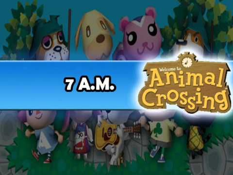 Animal Crossing 7 AM