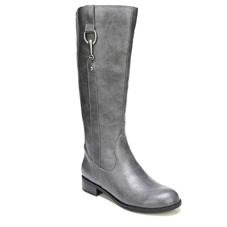 LifeStride Sikora Women's Knee High Riding Boots, Size: medium (9.5), Dark Grey